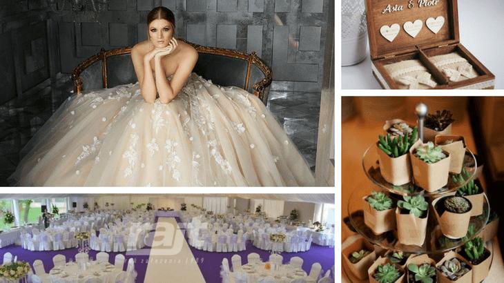 Trendy na ślub i wesele 2018 inspiracje